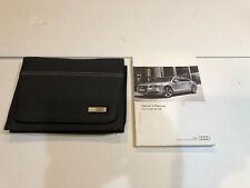 2013 Audi A8 S8 owners manual & portfolio