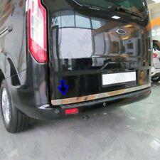 2012Up Ford Transit Custom Chrome Rear Trunk Tailgate Lid Molding Trim S.Steel