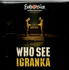 ★☆★ CD Single Eurovision 2013 Montenegro Who See* Feat. Nina Žižić 	Igranka 2-T
