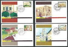 2002 ITALIA CARTOLINA POSTALE FDC TURISTICA ANNULLI SPECIALI