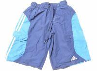 ADIDAS Mens Sport Shorts Small Blue Nylon  JV05
