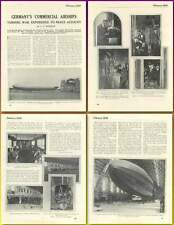 1920 Germany's Commercial Airships War Experience To Peaceful Account Article