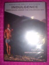 INDULGENCE: 1000 Miles Under the Colorado Sky (DVD) BRAND NEW! Ultramarathon RUN