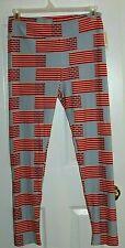 Lula Roe Tall & Curvy Legging Stars & Stripes New with Tags