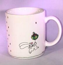 Hallmark Brewer Easter Bunny Jelly Beans Umbrella Ceramic Mug Vintage 1980's