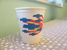 Vintage Chevrolet Paper Cups Colorful Bowtie 60's -70's Great For Car Guy Party!