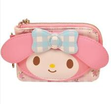 Cute Pink My Melody PU Leather Purse Clutch Wallet Coin Bag Card Bag Gifts