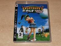 Everybody's Golf World Tour PS3 Playstation 3 **FREE UK POSTAGE**