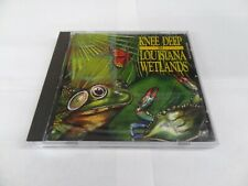 Knee Deep in Louisiana Wetlands Disc as Shown