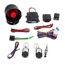1-Way Auto Car Vehicle Burglar Alarm Security Keyless Entry System w/2 Remote Ek