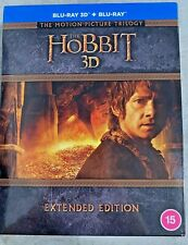 The Hobbit Motion Picture Trilogy Extended Edition 3D [Blu-Ray] [Region Free]