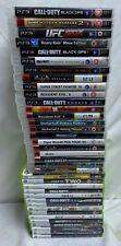 15 Juegos Xbox 360 y 22 Juegos PS3 Trabajo Lote