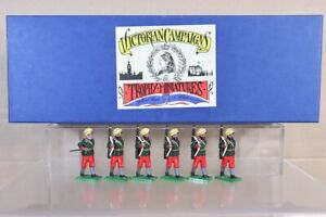 TROPHY MINIATURES INDIAN MUTINY SIKH INFANTRY MARCHING BOXED SET 9 pjm