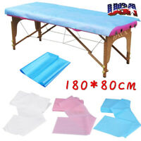 10pcs Massage Beauty Waterproof Disposable Bed Table Cover Sheets Paper 80X180cm