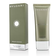 BVLGARI POUR HOMME-AFTER SHAVE BALM-3.4 OZ-100ML-AUTHENTIC-MADE IN ITALY