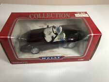 Welly 1:24th Scale 1999 Chevrolet Corvette Coupe Open Box, New Car