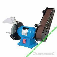 Amoladora y lijadora de banda 240 W Amoladora de banco de 150 mm y lijado 612519