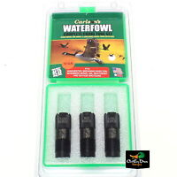 CARLSON'S WINCHESTER BROWNING 12GA EXTENDED 3 PACK WATERFOWL CHOKE TUBE SET
