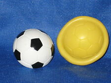 Soccer Flexible Push Mold For Resin Or Clay Candy Food Safe Silicone #680 Cake