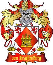 ADELSTITEL = GRAF von DRACHENBURG =  Fürst Baron Herzog Freiherr Urkunde