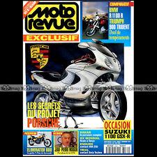 MOTO REVUE N°3162 TRIUMPH 900 TRIDENT BMW R 1100 R HUSQVARNA 250 WR BETA TECHNO