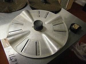 DESCALE/CLEAN SHELL FISH BLADED PLATE FITS INTO METCALF PEELER (REF-1415/153)