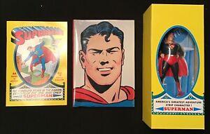 "1999 SUPERMAN Masterpiece Edition Boxed Set 8"" Statue HC Book #1 Comic Book NEW"