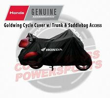 Honda Genuine GL1800 Goldwing Motorcycle Cover w/ Trunk Access (0SP34-MCA-301)