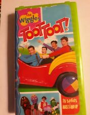 The Wiggles Toot Toot! - VHS - Preowned - Good Condition - Clamshell