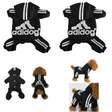 Adidog Pet Clothes Dog Cat Puppy Hoodies Coat Winter Sweatshirt Warm Large