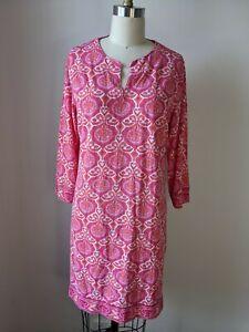 Coolibar Dress Kaftan Pink sun protection upf 50+ medium