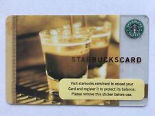 RARE Starbucks Gift Card Double Steaming Espresso Cups Barista  No Value 2006