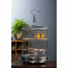 Prevue Pet Products Empress Stainless Steel Bird Cage silver N/A