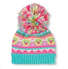 Toddler Girls 'Emoji' Pom Pom Beanie  HAT size S/M (4-7YR)