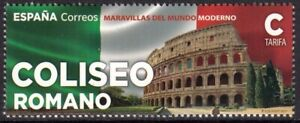 SPAIN 2021 WONDERS OF THE WORLD ITALY ROME COLOSSEUM [#2104]