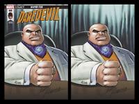 DAREDEVIL #600 JOHN ROMITA C2E2 2 PACK VIRGIN VARIANT SET MARVEL COMICS KINGPIN