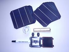 40 High Efficient MONO solar cells kit DIY solar panels, wires,flux pen,jbox