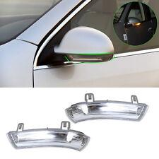 2Pc Side View Mirror Indicators Turn Signal Light Lamp for VW GOLF JETTA Passat