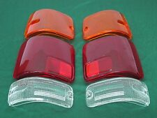 LHS+RHS TAIL LIGHT LENSES FOR ISUZU TFR PICKUP HONDA PASSPORT YEAR 1991-1997 92