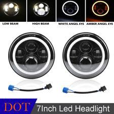 2x7inch Led Projector Headlights Combo Beams For Mazda Miata 1990-1997