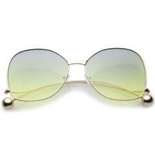 Gafas de sol de mujer degradadas verde