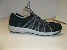 Womens Size 38/7.5 Dankso Honor Black Sneakers