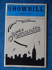 Isn't It Romantic - Playwrights Horizons Theatre Playbill - February 1984 - Zien