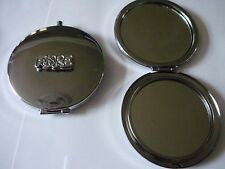 Fore TG7 Golfing Fine Pewter on Round Shape Compact Mirror