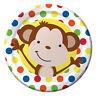 Diversión Mono Fiesta Cumpleaños Gama - Vajilla & Decoración {Creative} Animal /