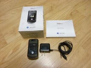Motorola Moto W755 - Black (Verizon) Cellular Phone Kit - Used - Great working!!
