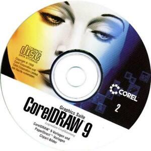 corel draw 9 cd disk