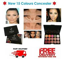 15 Colors Concealer Palette Kit Face Makeup Contour Cream, Palette #3 CL3 UK