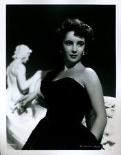 """Elizabeth Taylor 8x10"""" Photo From Original Negative #N812"""