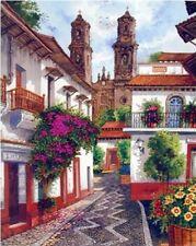 Wall Decor Old Mexico City Horacio Robles Jr Wall Decor Art Print Poster (16x20)